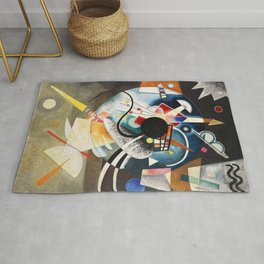 A Center - Wassily Kandinsky Rug