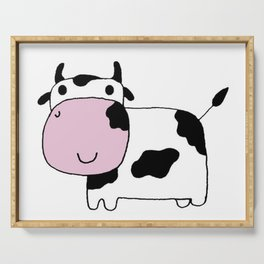 Holstein Cow Serving Tray