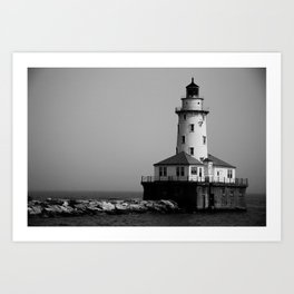 East Coast Lighthouse Art Print