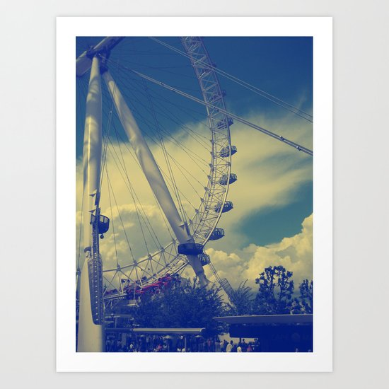 London Eye III Art Print