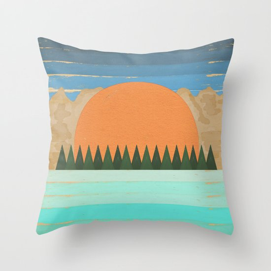 The Scenic View 2 Throw Pillow