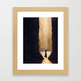 Shower Framed Art Print