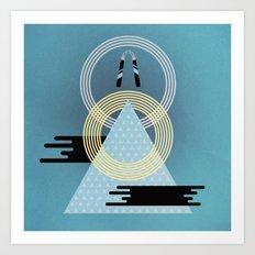 Born to Explore Pt3 Art Print