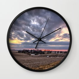 High Ground Wall Clock