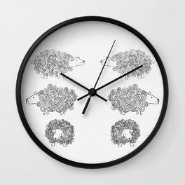 sheeepy Wall Clock