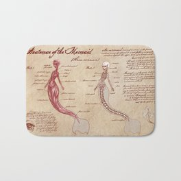 Anatomy of the Mermaid Bath Mat