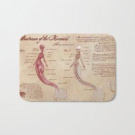 Anatomy of the Mermaid Bath Mat