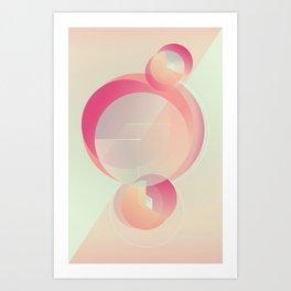 Alluring secret Art Print