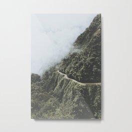 Death Road, Bolivia I Metal Print
