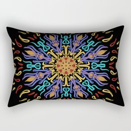 The Sound of Silence Rectangular Pillow