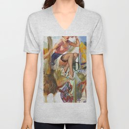 Another Place In Time Unisex V-Neck