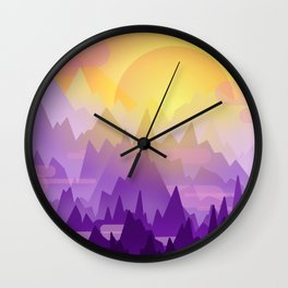 Morning! Wall Clock
