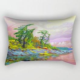 Wind Sculpture by Amanda Martinson Rectangular Pillow