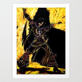 Ragnarok '77 Art Print