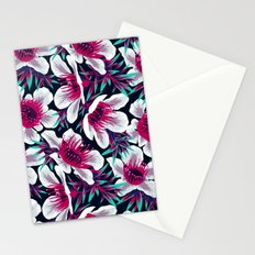 Manuka Floral Print -  Light Stationery Cards