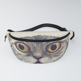 Watercolour cat 07 Fanny Pack