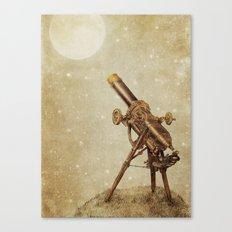 Moonrise (sepia option) Canvas Print