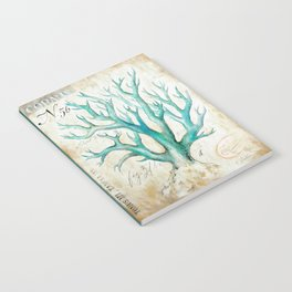 Blue Coral No. 2 Notebook