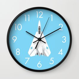 F-14 Tomcat Jet Aircraft - Sky Wall Clock