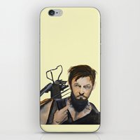daryl iPhone & iPod Skins featuring Daryl by Brittany Ketcham