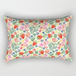 Summer Berries Rectangular Pillow
