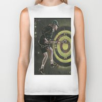 acdc Biker Tanks featuring AC/DC by Ray Stephenson