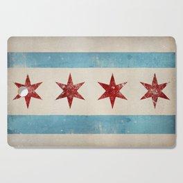 Chicago Flag Cutting Board