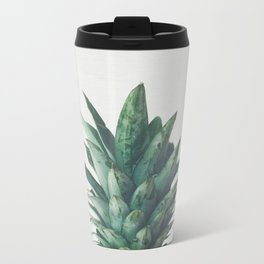 Pineapple Top Metal Travel Mug