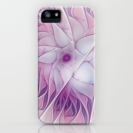 Beauty of a Flower iPhone Case