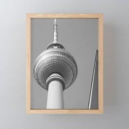 Berliner Fernsehturm TV Tower Framed Mini Art Print