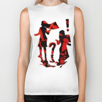 mom Biker Tanks featuring Mom by Violet Vibrance