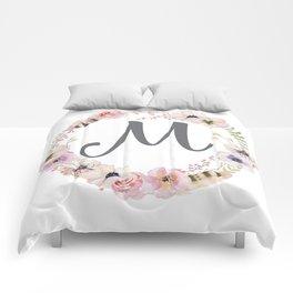 Floral Wreath - M Comforters
