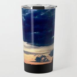 highway sunset Travel Mug