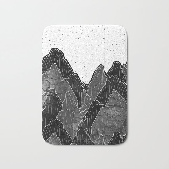 Dark Moon Mounts Bath Mat