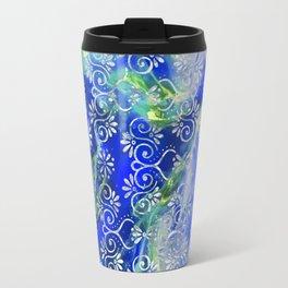 Psicodelic Adventure - Dark Blue Travel Mug