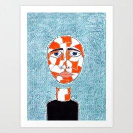 The Creation of Self Art Print
