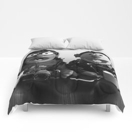 Modern Puppet Gothic Comforters