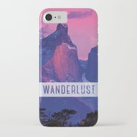 wanderlust iPhone & iPod Cases featuring Wanderlust by snaticky