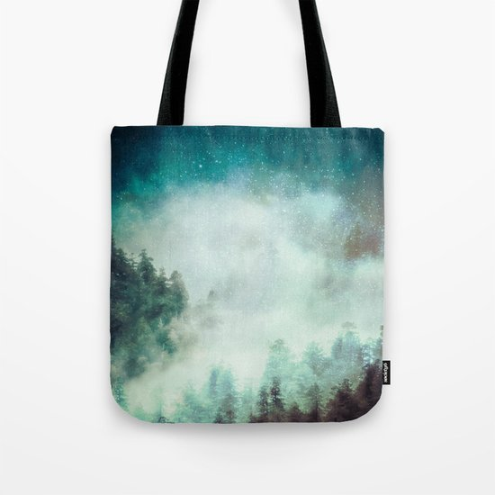 Galaxy Forest Tote Bag
