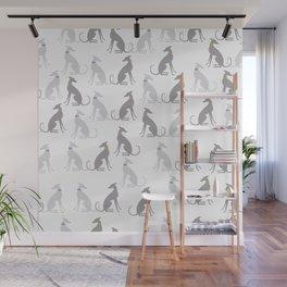 Whippet Pattern Wall Mural