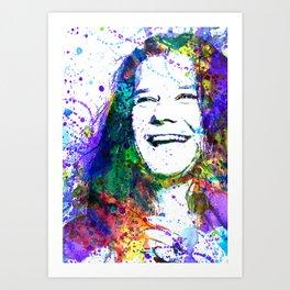 J Joplin Art Print