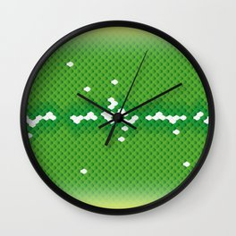 "Green Tree Python ""Aru"" Wall Clock"