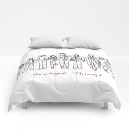 Friends Don't Lie (Black) Comforters