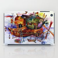 france iPad Cases featuring France by oxana zaika