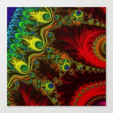 Fractal - My Mother's Dress Canvas Print