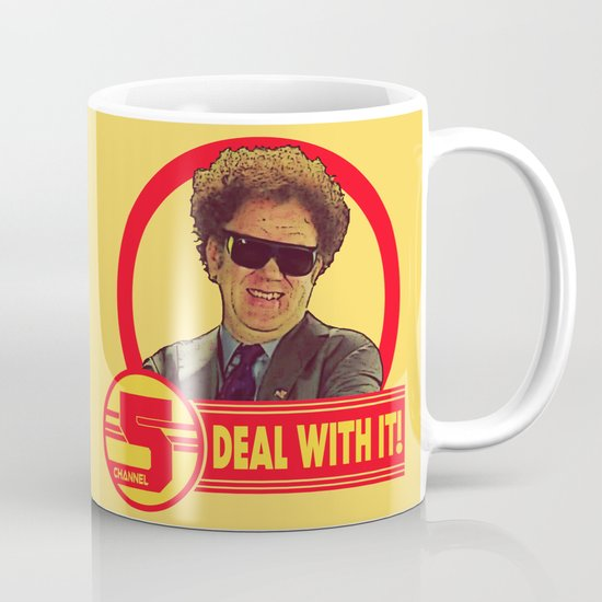 Deal With It Channel 5 Brule Coffee Mug By Silvio