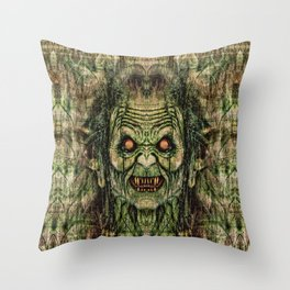 Old Corpse Throw Pillow