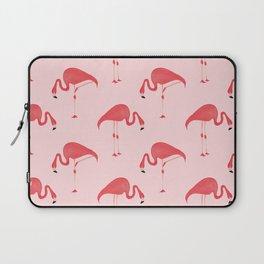 Flamingo Watercolor Pattern Laptop Sleeve