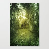 swedish Canvas Prints featuring Swedish summer by Heroines