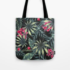Tropical leave pattern 9.2 Tote Bag